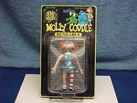 BUMP IN THE NIGHT MOLLY CODDLE HORROR BENDIE BENDABLE FIGURE MOC SEALED