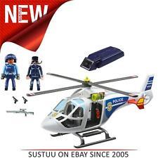 Playmobil Polizei Hubschrauber mit LED Suchscheinwerfer ¦ Baby / Kid's