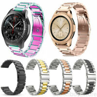 Stainless Steel Metal Wrist Band Samsung Galaxy Watch Active 1 2 40mm 44mm 42mm