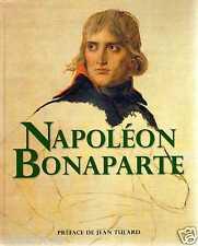 GRAND LIVRE : NAPOLEON BONAPARTE de jean tulard HISTORIQUE france loisirs