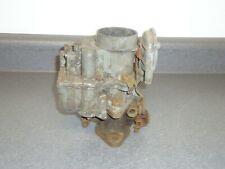 Carter WA-1 1-Barrel Carburetor Carb Core 1942-1951 Nash 6-Cylinder ID Tag 683s