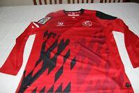 CAMISETA OFICIAL SEVILLA FC MARCA WARRIOR TALLA L DEL Nº 9 DAVIDI COTIZADA SHIRT
