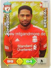 Adrenalyn XL Liverpool FC 11/12 - #061 Glen Johnson - Special