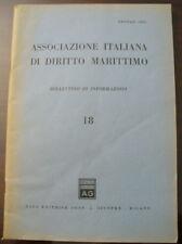 (PRL) ANTIQUE RARO 1963 RIVISTA MARITTIMA VINTAGE BOLLETTINO REVIEW
