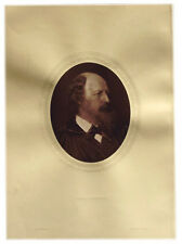 1883 - ALFRED TENNYSON - British Poet - Photograph