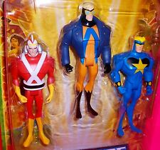 Justice League Unlimited 3-pack ADAM STRANGE ANIMAL MAN STARMAN DC Comic JLA JLU