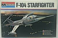 Monogram Model Kit 1:48 Scale F-104 Starfighter US Air Force Jet Fighter