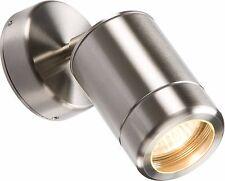 Knightsbridge 230V IP65 Stainless Steel Adjustable GU10 LED Garden Light Fitting