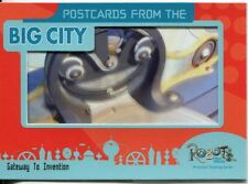 Robots The Movie Postcards From The Big City Chase Card PC-1