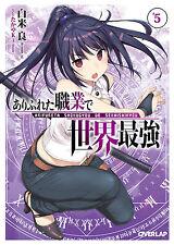 NEW Arifureta Shokugyou de Sekaisaikyou Vol.5 Japanese Ver. Novel takayaki