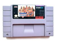 American Gladiators SNES Super Nintendo Game - Tested - Working - Authentic!
