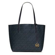 Michael Kors Bag 30H5GH3T2V MK Hayley Large Tote Baltic Blue LightSky Agsbeagle
