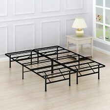 14 Inch Bed Frame, Size Queen - Black