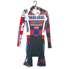 Mens Cycling Shimano Kona Aero Speed Skin Suit ~ Small - Very Good Condition