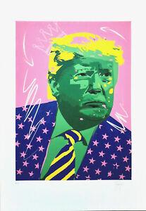 Grafica d'autore P.A. firmata a mano dall'artista Stefano Fiore (no Warhol)