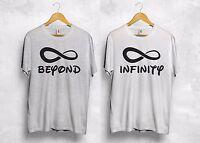 Beyond Infinity T Shirt Disneyland Couple Girlfriend Boyfriend Wifey Hubby Gift