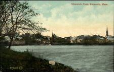 Falmouth MA Shiverick Pond c1910 Postcard #4