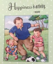 Mary Engelbreit Artwork-Happiness-Handmad e Magnets