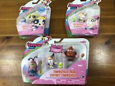 Paquete De Figuras De Juguete Niñas The Powerpuff nuevo paquete The Mayor Bubbles Townsville