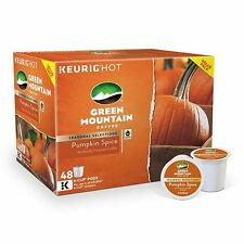 GREEN MOUNTAIN COFFEE SEASONAL SELECTIONS PUMPKIN SPICE K-CUPS 18ct BOX ~ NEW
