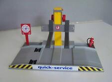 PLAYMOBIL (R3111) GARAGE - Pont Atelier Controle Technique Quick Service 3615