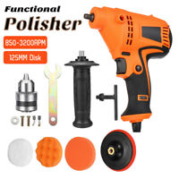980W Electric Drill Car Polisher Polishing Waxing Machine Buffer Waxer Kit