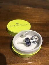 Chamilia Sterling Silver Murano Glass Lavender Charms X2