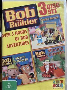 Kids DVD: Bob the Builder - 3 Disc Set (ABC For Kids)