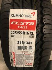 1 New 225 55 16 Kumho Ecsta PA31 Tire