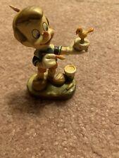 Anri Woodcarvings Disney Pinocchio Mini Figurine
