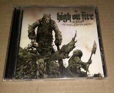 HIGH ON FIRE Death Is This Communion CD,  HEAVY METAL, Free Post