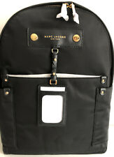 $250 NWT Marc Jacobs Authentic Black Preppy Nylon Backpack Large M0012907