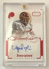 Alfred Morris 2014 Panini Flawless Inscriptions Ruby Red Auto #09/15 Autograph