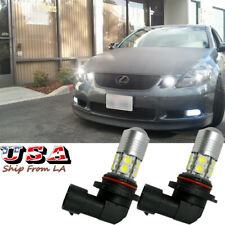 White 9005 LED High Beam Daytime Driving DRL Light Bulb For LEXUS IS250 ES350 GS