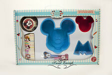Silicone cake topper Mickey case Cupcake Muffin Mold Chocolate Jelly Cake Mould
