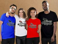 #Disney Squad Cute Family matching T-Shirts for couples, Friends and families