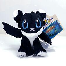 How to Train Your Dragon Nightlight Black White Genuine Plush Build a Bear NWT