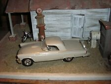 Custom 1/24 1/25 Vintage 1950's Ford Thunderbird Hot Rod tan for parts restore