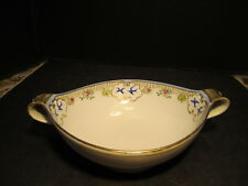 Nippon Blue Birds Decorated 2 Handled Porcelain Bowl