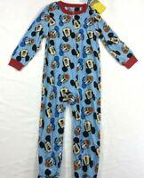 Disney JUNIOR MICKEY Mouse Footie Pajamas PJ's Boy Blue Donald Duck Size 5T RTP