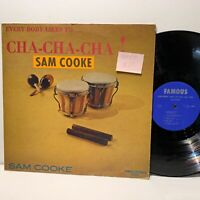 Sam Cooke- Everybody Likes To Cha Cha Cha- Famous 512 Soul LP- VG/VG+- /VG(+)
