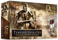 FIREFORGE GAMES DEUS VULT 28mm Templar Knights Infantry 24 Figures FREE SHIP