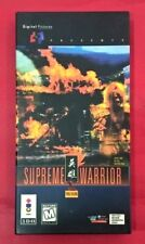 Supreme Warrior - 3DO - USADO - EN BUEN ESTADO