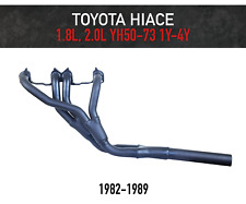 Headers / Extractors for Toyota Hiace 1.8L, 2.0L (1982-1989) YH50, YH73