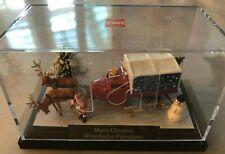 Free Shipping - Nib Busch Ho Scale #7639 Merry Christmas Scene