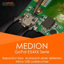REPARATUR Austausch Micro USB Buchse Medion GoPal E54XX Serie Navigationsgerät