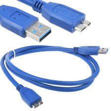 3FT USB 3.0 PC Cable Cord For Toshiba Canvio Portable HDTC610XR3B1 HDTC610XK3B1