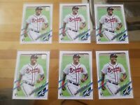 2021 Topps Series 1 Christian Pache Rookie Card Lot X 6
