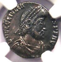 Ancient Roman Julian II AR Siliqua Rome Coin 360-363 AD. Certified NGC Choice XF