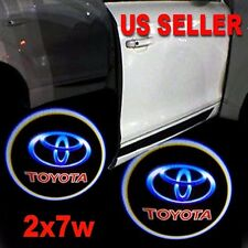 2x7w Ghost Shadow Projector Logo LED Door Step Light Courtesy for Toyota